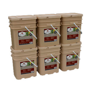 720 Serv. Freeze Dried Vegetable & Sauces