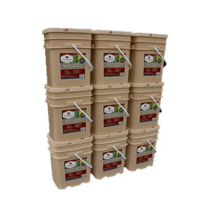 1080 Serv. Freeze Dried Vegetable & Sauces