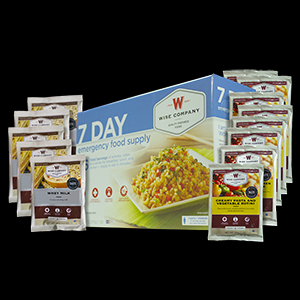 7 Day Wise Emergency Survival Freeze Dried Food Supply for 1 Person