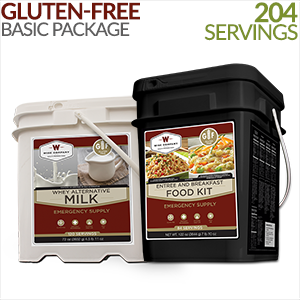 Gluten-free Basic Savings Package - 1 Month Supply