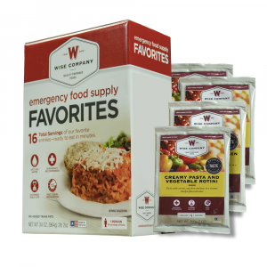 Wise Company Emergency Survival Freeze Dried Food Favorites Sample