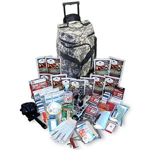 Deluxe Survival Kit (Camo Bag)