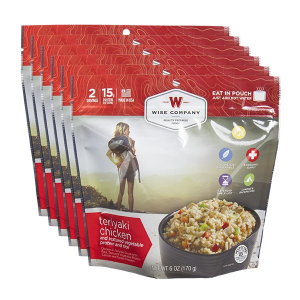 Teriyaki Chicken and Rice (Case of 6 Pouches)