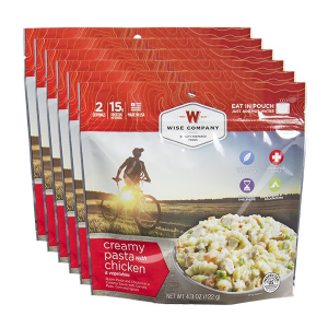 Creamy Pasta with Chicken (Case of 6 Pouches)