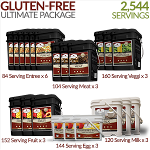 Gluten-free Ultimate Savings package - 6 Month Supply