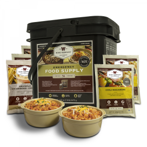 1 Month Emergency Food Supply for 1 Person - 56 Servings