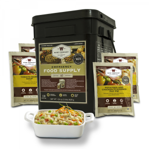 60 Serving Bucket of Wise Company's Emergency Survival Freeze Dried Food Entr_es