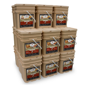 2880 Servings of Emergency Food Storage
